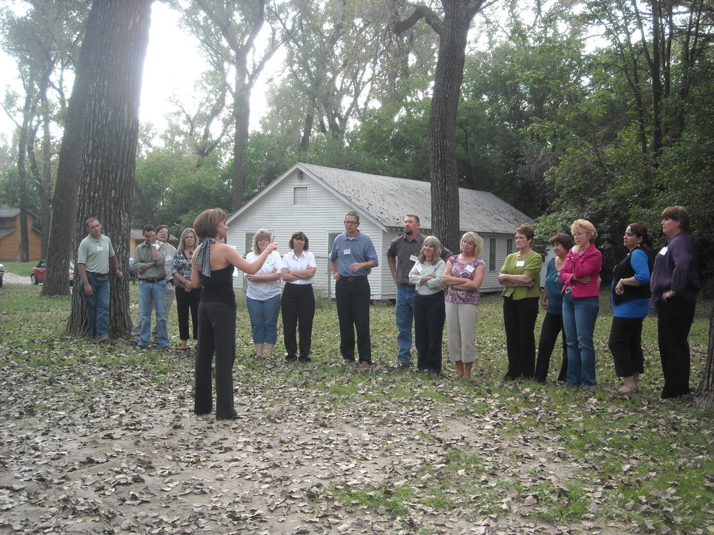 Orientation-line up with Lisa Gunderson.jpg
