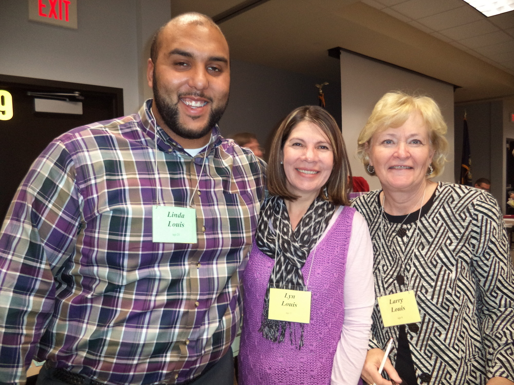 Poverty Simulation-Louis Family-Wes, Adriana, Marian Burnett.JPG