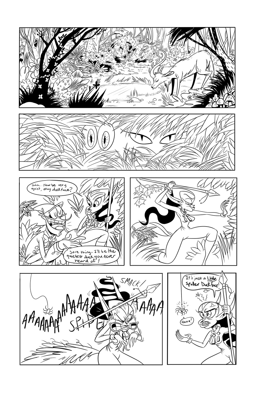 Test comic page 1