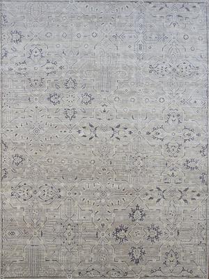 Top Retro Serapis Carpets | Decorative Heriz Rug Collection | French  CJ16