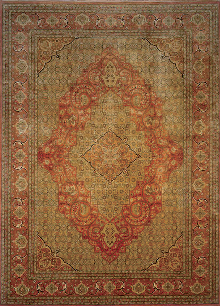 Tabriz and Mohtashem Area Rugs