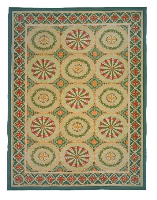 Aubusson Area Rug 5018