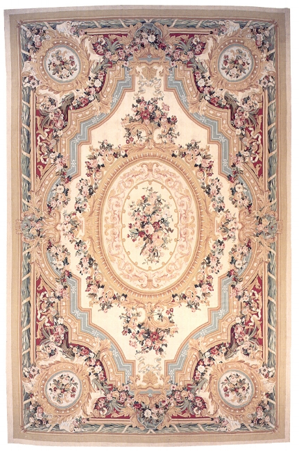 Aubusson Area Rug 5026