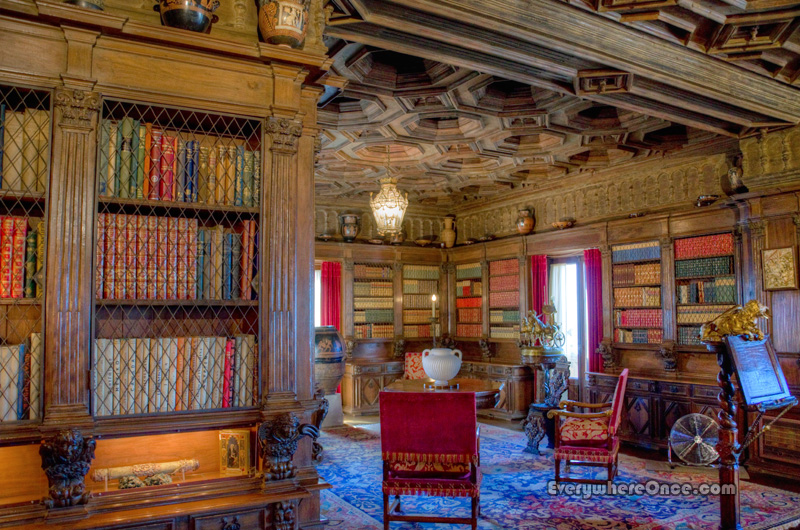 hearst-castle-library1