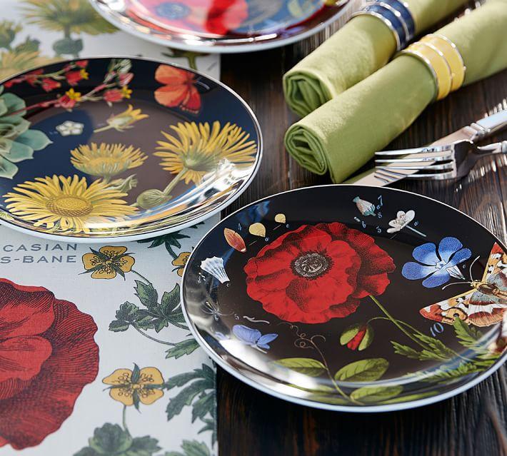 poppy-botanical-salad-plates-mixed-set-of-4-o