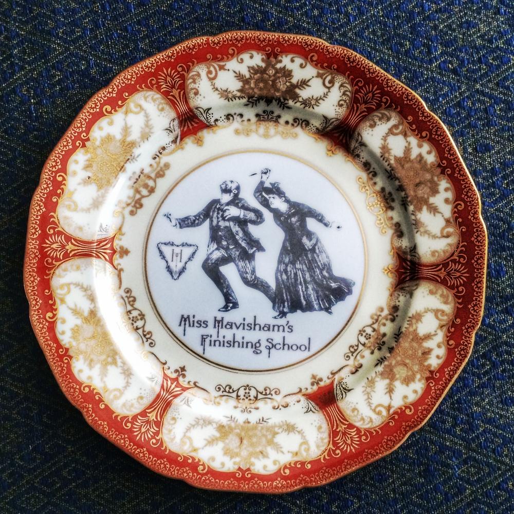 Find our plates online here. & Our Custom Line of Dinnerware is here! u2014 Miss Havishamu0027s Curiosities