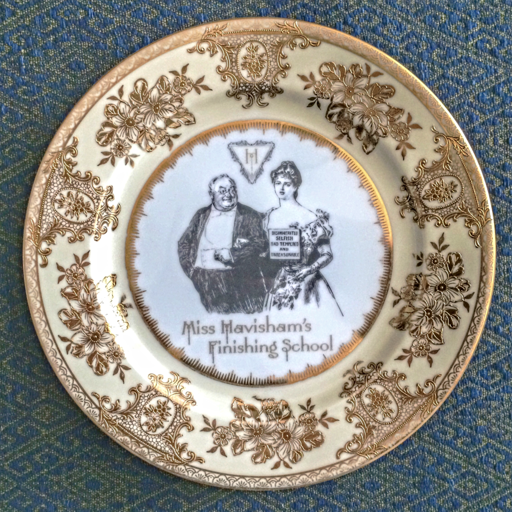 ... our dinner plates have been known to cause more than a few dinner parties to go sideways. Decorum darling. Always maintain a modicum of decorum even ... & Our Custom Line of Dinnerware is here! u2014 Miss Havishamu0027s Curiosities
