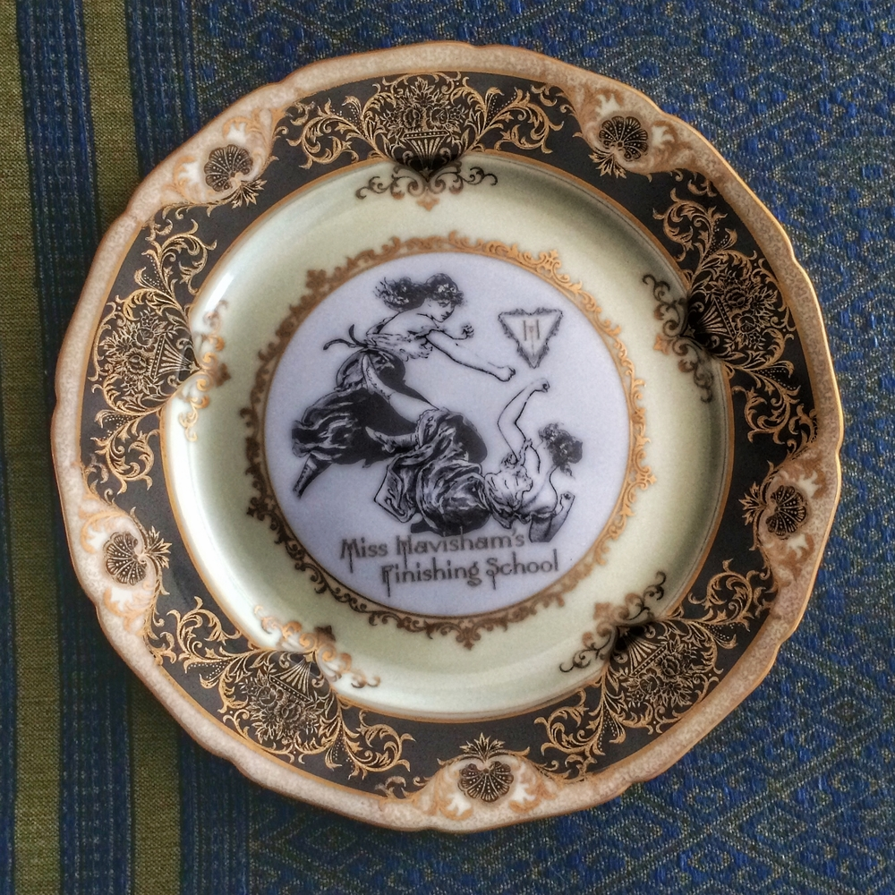 Food and dishwasher safe our dinner plates have been known to cause more than a few dinner parties to go sideways. Decorum darling. & Our Custom Line of Dinnerware is here! \u2014 Miss Havisham\u0027s Curiosities