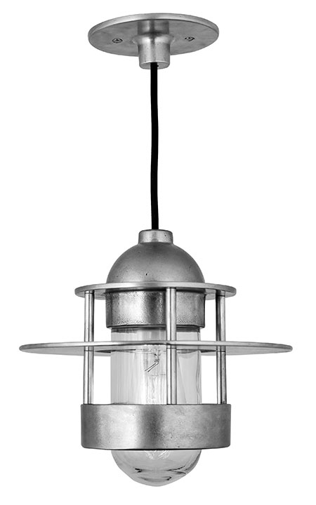 Hudson Pendant Light with Center Ring