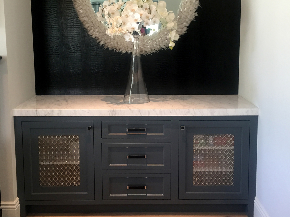 Custom Cabinet Grille
