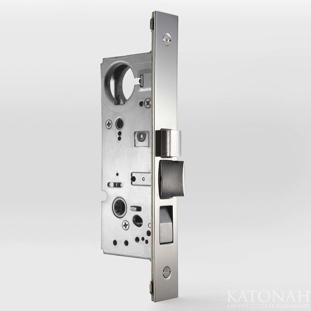 Narrow Backset Entry Mortise Lock