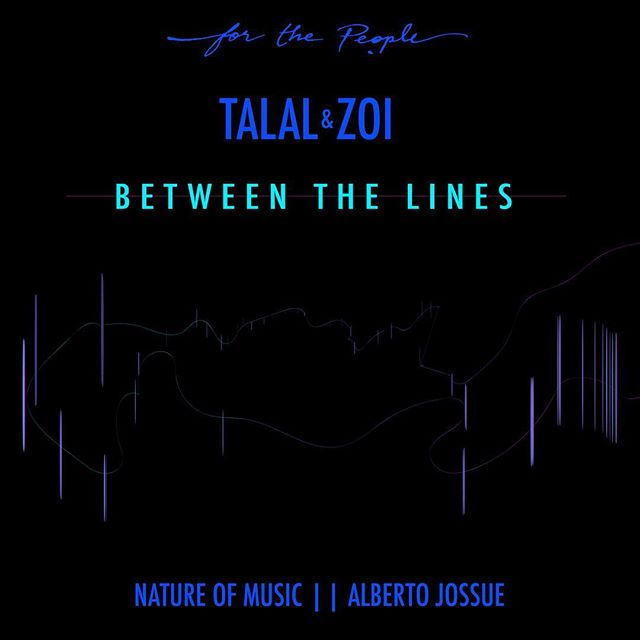 Our first release! Two days left!! Talal & Zoi's Between The Lines with remixes by @alberto_jossue and @natureofmusic ⚡️⚡️⚡️ Release date: 15 February!