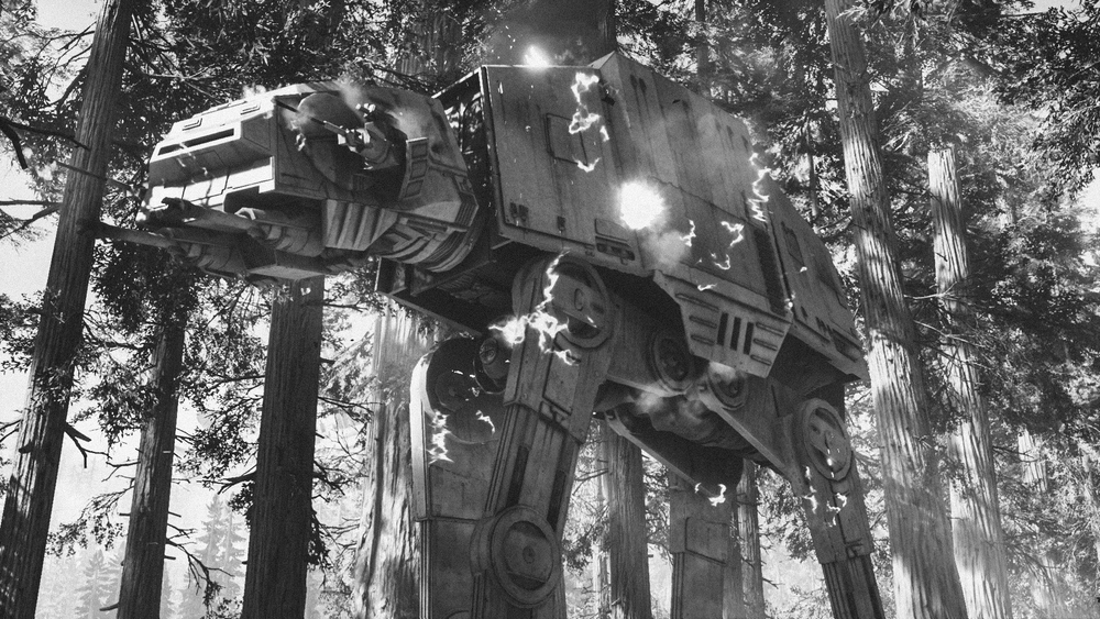The real problem was a huge AT-AT that was crushing everything in front of it.  Rebel troops were concentrating all their fire on the massive walker.