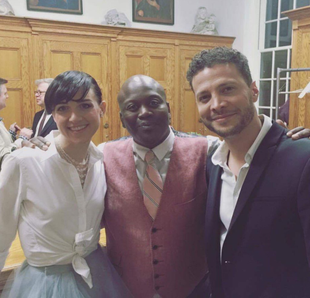 (Left to Right) Lena Hall, Tituss Burgess, JG