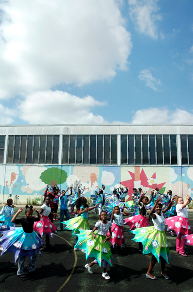 Southwark Youth Carnival rehearsal