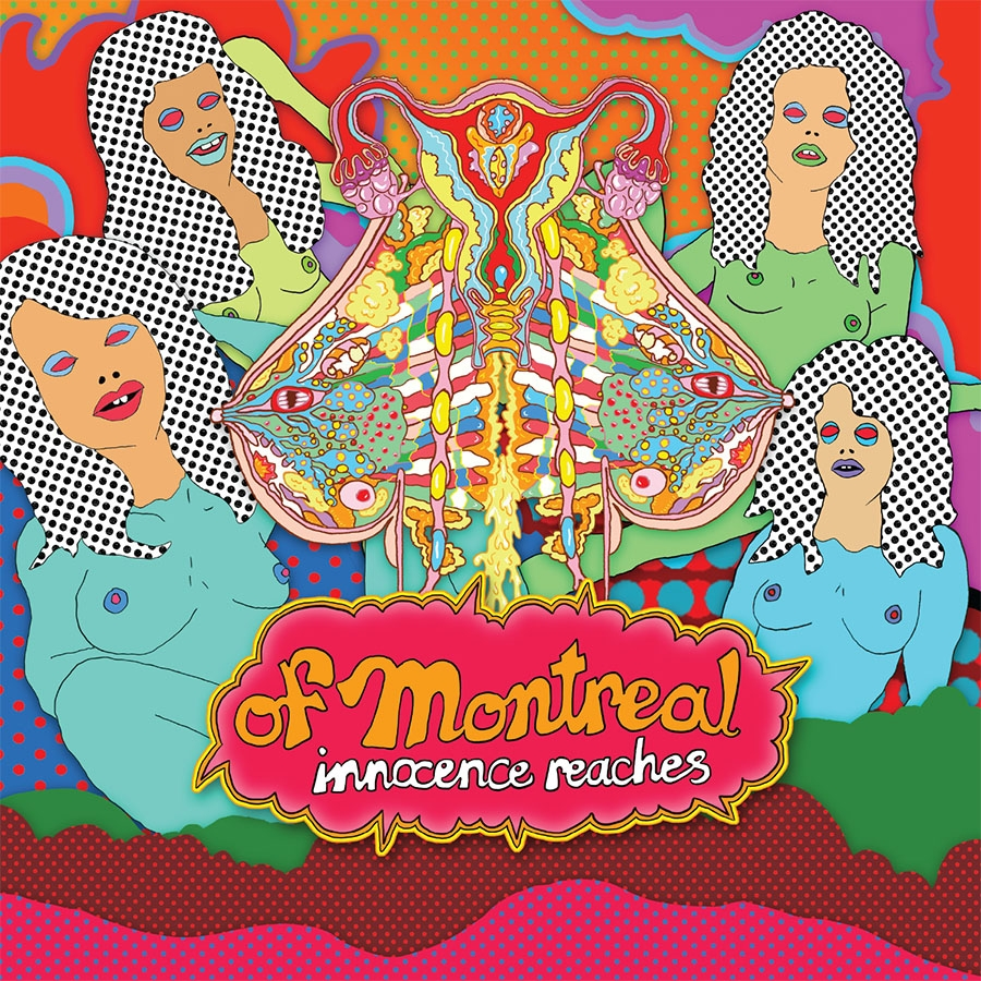 "Cover art for Of Montreal's new album, ""Innocence Reaches."""