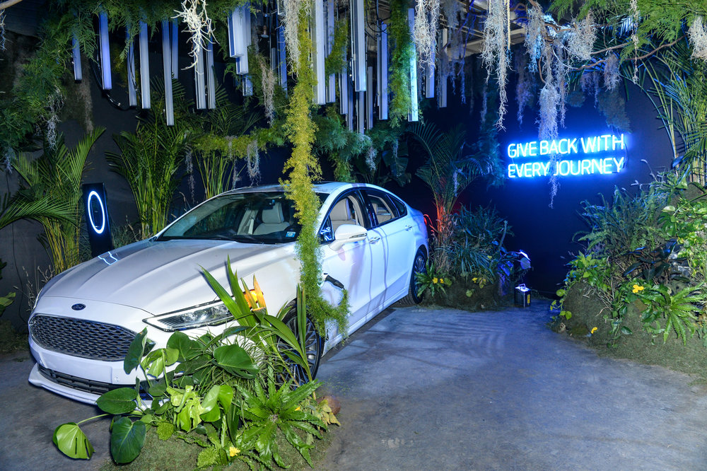 Garden of Energi Room in partnership with Ford Motor Company, Photo by Joe Schildhorn