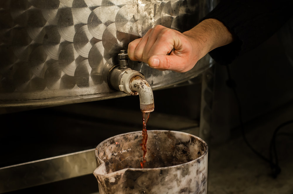 "Wine is an integral element of the CECCHI DE ROSSI ""pellevino"" process."