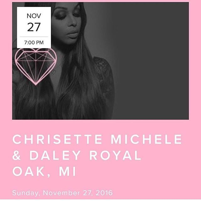 Excited to be back on tour this winter! If you're in the area make sure to come out to Royal Oak Music Theatre tomorrow night! Can't wait to kill the stage with @thelilmoshow and @chrisettemichele #themilestonetour