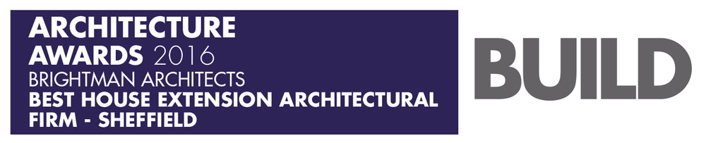 Brightman Architects awarded Best House Extension Architectural Firm in Sheffield prior to merging with JCAD to form Brightman Clarke Architects.
