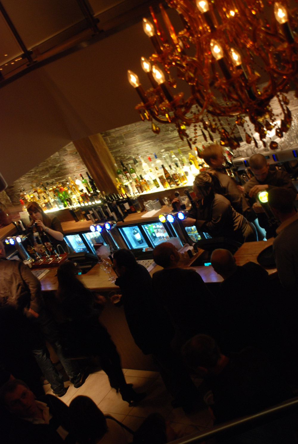 bar view from above