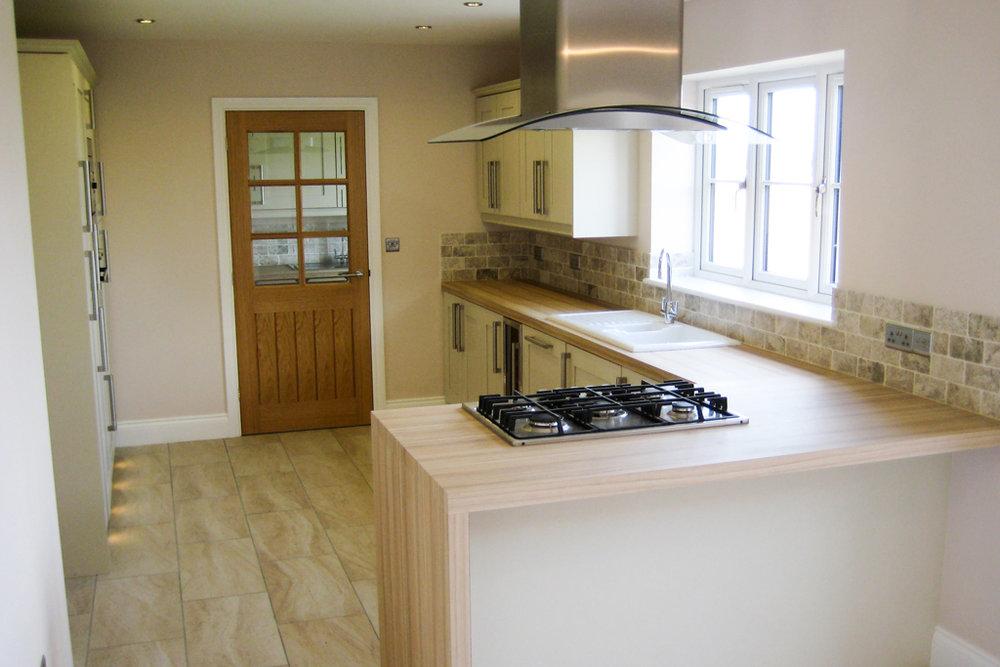 chesterfield housing development kitchen