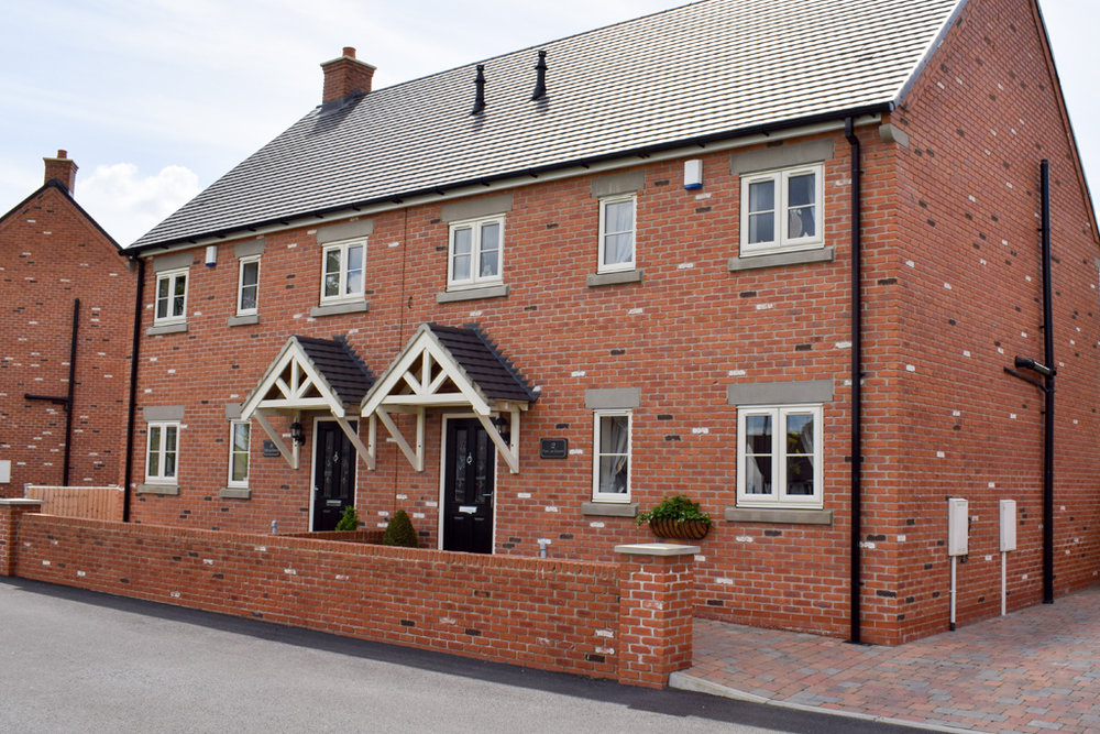 Chesterfield semi-detached houses