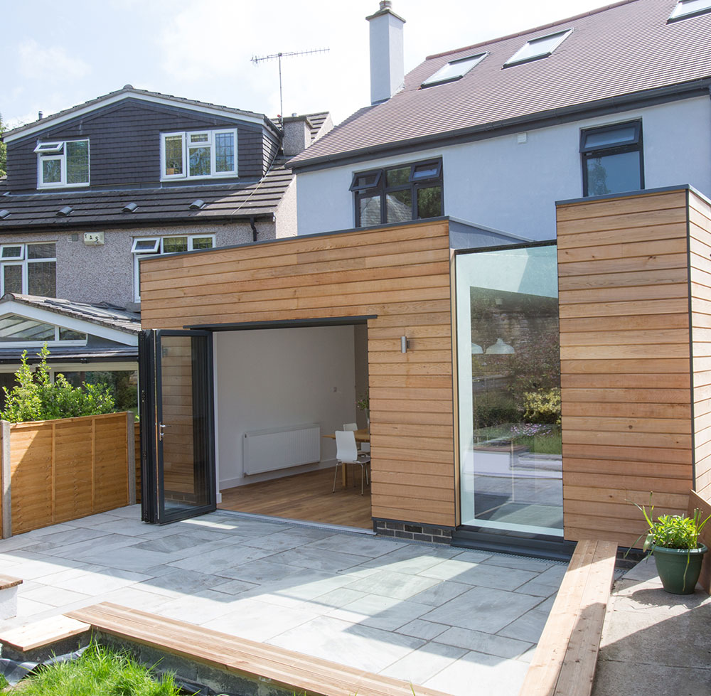 sheffield architects contemporary house extension