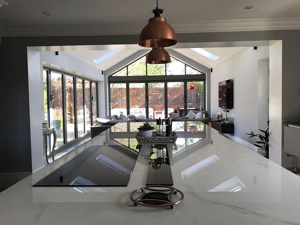 modern kitchen design by architects in sheffield