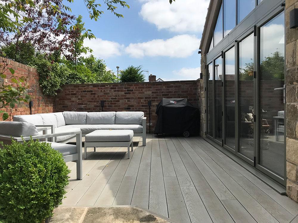 patio garden space