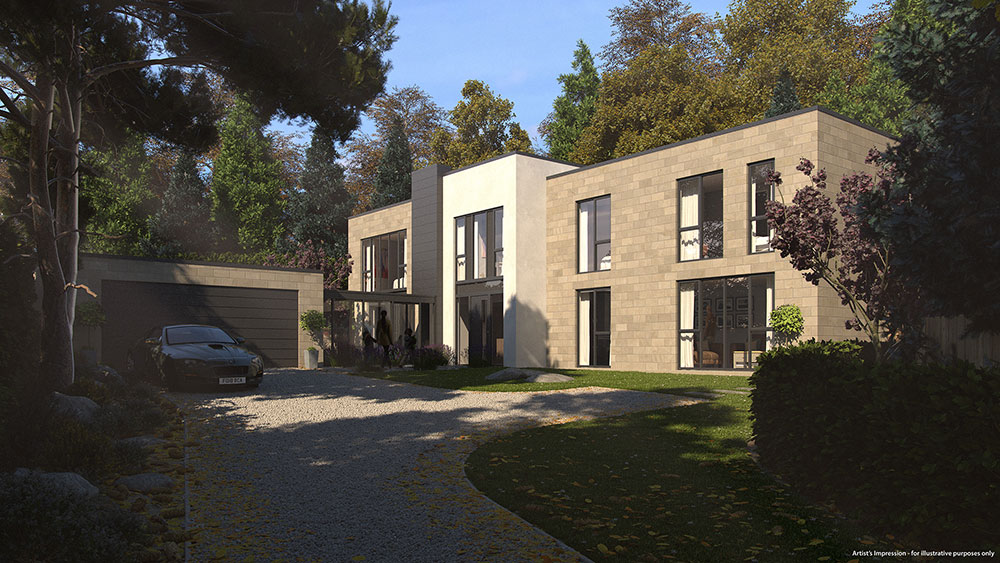 sheffield new build house