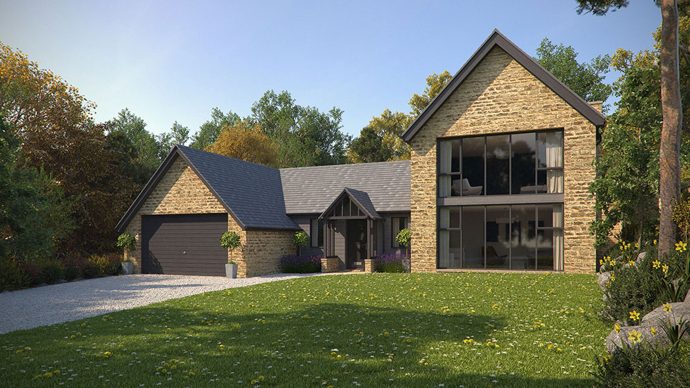 new build contemporary home in sheffield