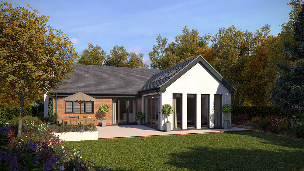 bungalow with open plan living
