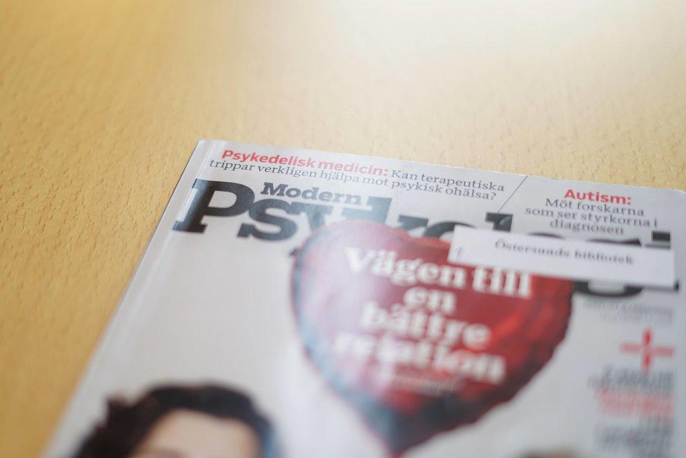 Tidningen Modern psykologi 2018-12-18: