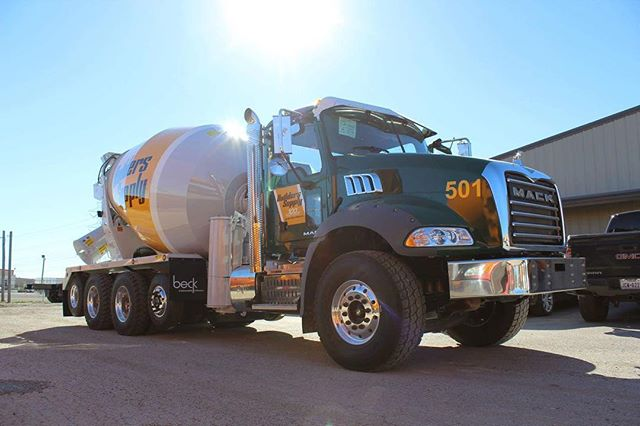 """Beck Industrial - """"On her way to Las Vegas for ConExpo!  Come see her in the Beck Industrial Booth S60739!"""""""