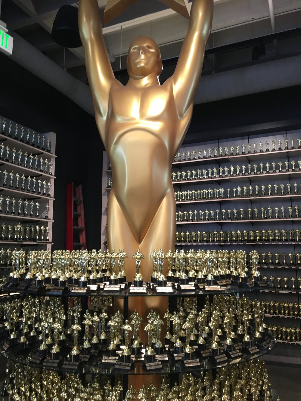 You could get your own Oscar for only 10 bucks! Not gold plated... plastic.