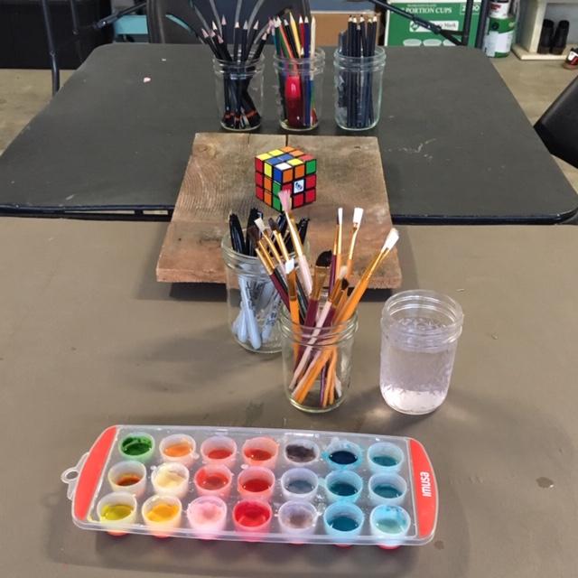 Watercolors Paint