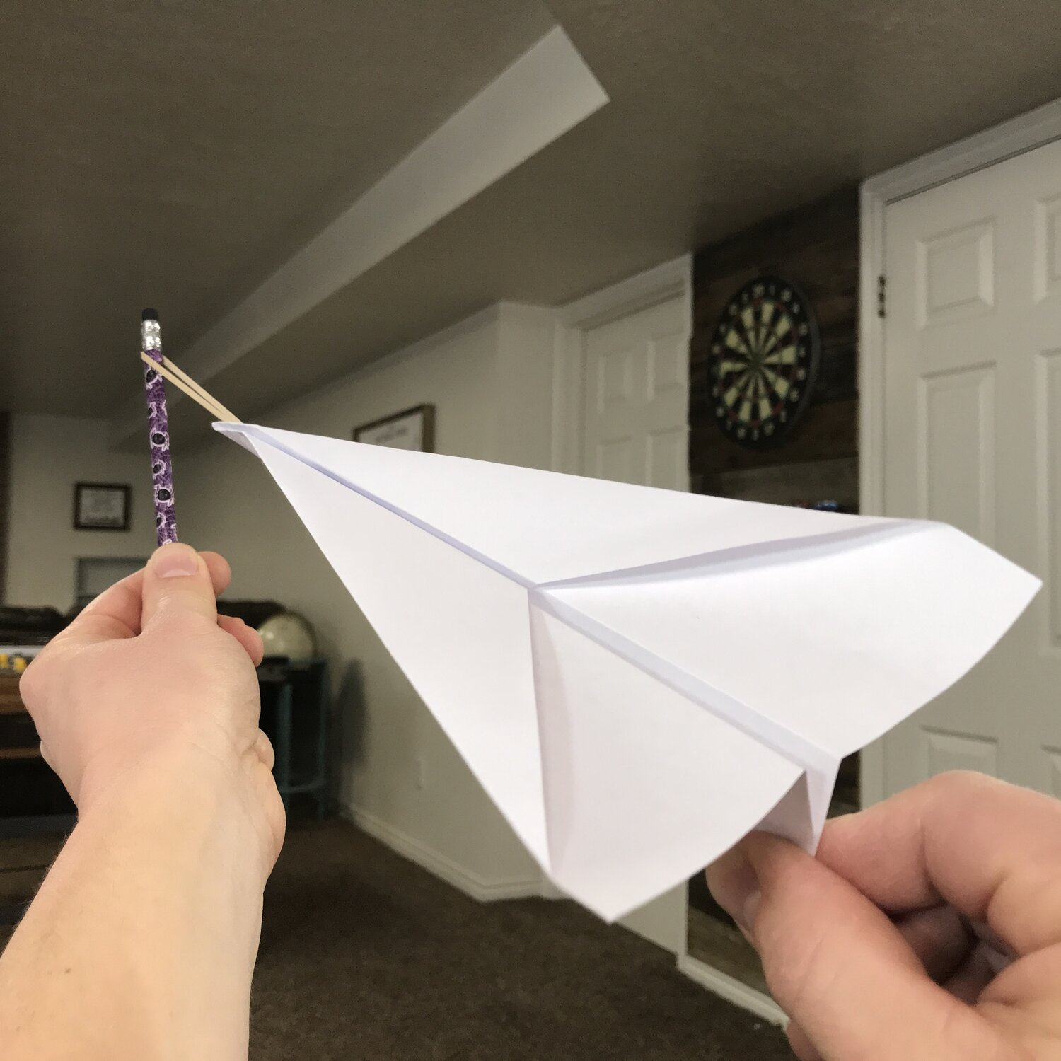 LET'S MAKE a PAPER PLANE LAUNCHER : 7 Steps (with Pictures ... | 1500x1500