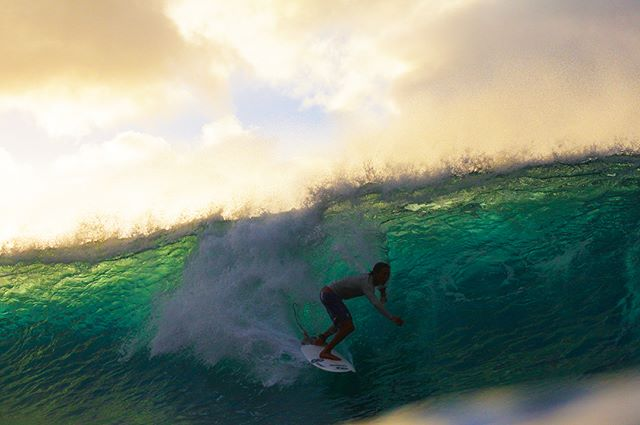 The fans wanted more backlit Pipeline pics, and I'm here to give it to em.  Shots taken one afternoon at Pipe as the swell was filling in.  The memory is still burned into my eyelids — @dclktryagain14 — link in bio if you want the story