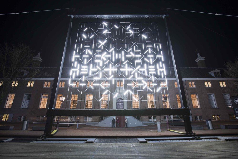 MYTH 1, 2017   Amsterdam Light Festival  Amsterdam, The NEtherlands  Photo: Janus van den Eijnden