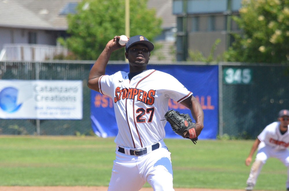 Gregory Paulino returns for his second season with the Stompers after a very good 2015.   James Toy III/Sonoma Stompers
