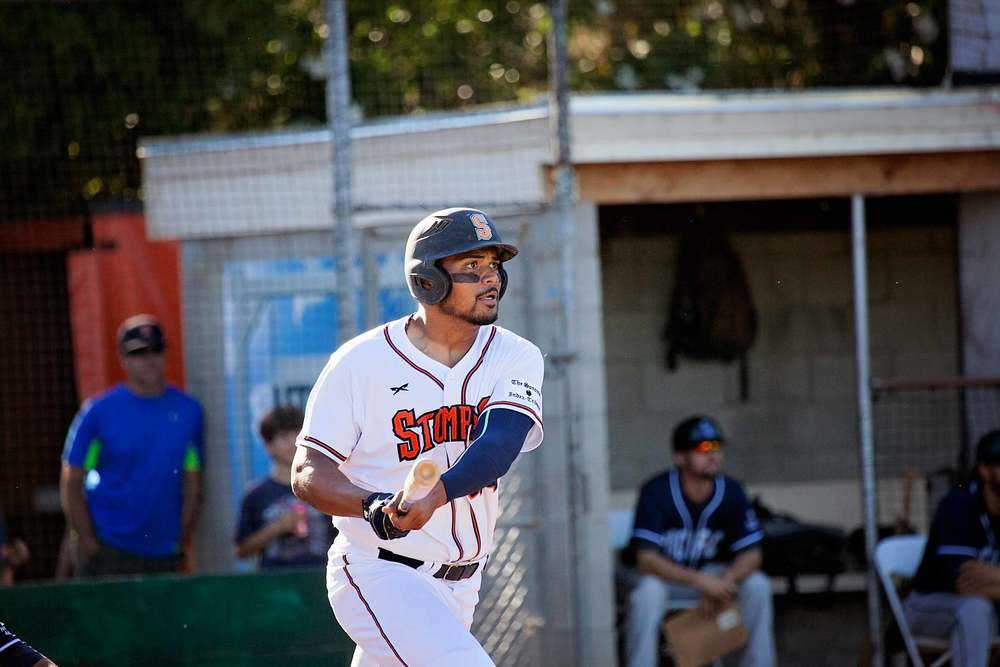 Daniel Baptista, a defensive player of the year and one of the top rookies in the Pacific Association, has agreed to terms on a contract that will bring him back to Sonoma to play for the Stompers in 2016. Danielle Putonen/Sonoma Stompers