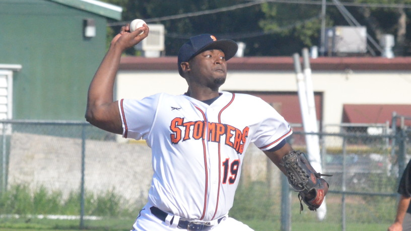 Mike Jackson threw 5 1/3 shutout innings and kept the Admirals off the board in Sonoma's 1-0 win on Saturday. James Toy III/Sonoma Stompers