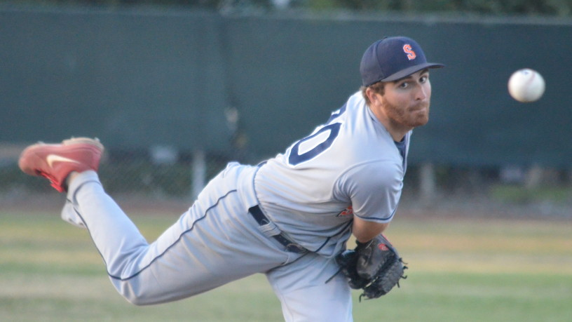 Sean Conroy got another win in relief as the team's fireman on Sunday, going 4 2/3 innings to help Sonoma to a series win over San Rafael. James Toy III/Sonoma Stompers