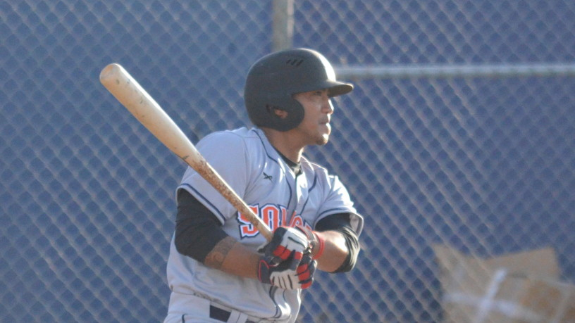 Gered Mochizuki had two hits on Friday night to extend his hitting streak to 11 games. James Toy III/Sonoma Stompers