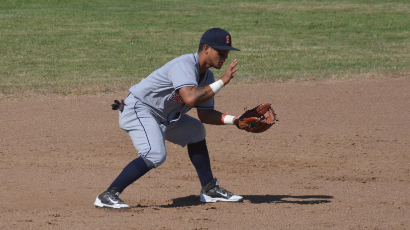 Gered Mochizuki got back on track with a three-hit performance on Thursday, one of four Stompers players with three hits on the evening.   James Toy III/Sonoma Stompers