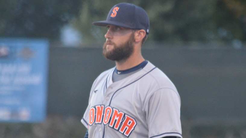 Isaac Wenrich had a big weekend in Pittsburg, adding two more hits on Sunday to finish 7-for-15 over three games. He's now hitting .311/.376/.533 on the season. James Toy III/Sonoma Stompers