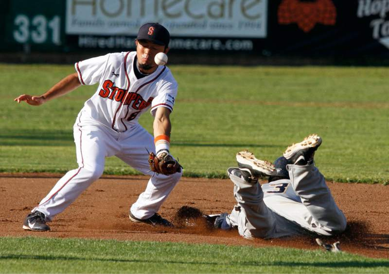 One of the best all-around players in the Pacific Association from 2015 returns to Sonoma as Yuki Yasuda signed with the Stompers on Saturday. Bill Hoban/Sonoma Index-Tribune
