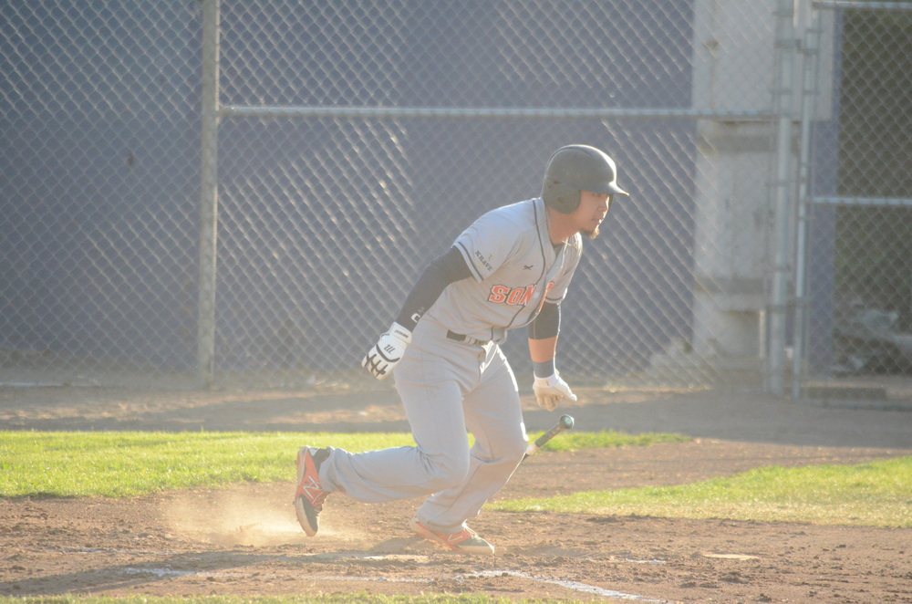 Mason Morioka went 3 for 4 in a 6-1 loss Tuesday.   James Toy III/Sonoma Stompers