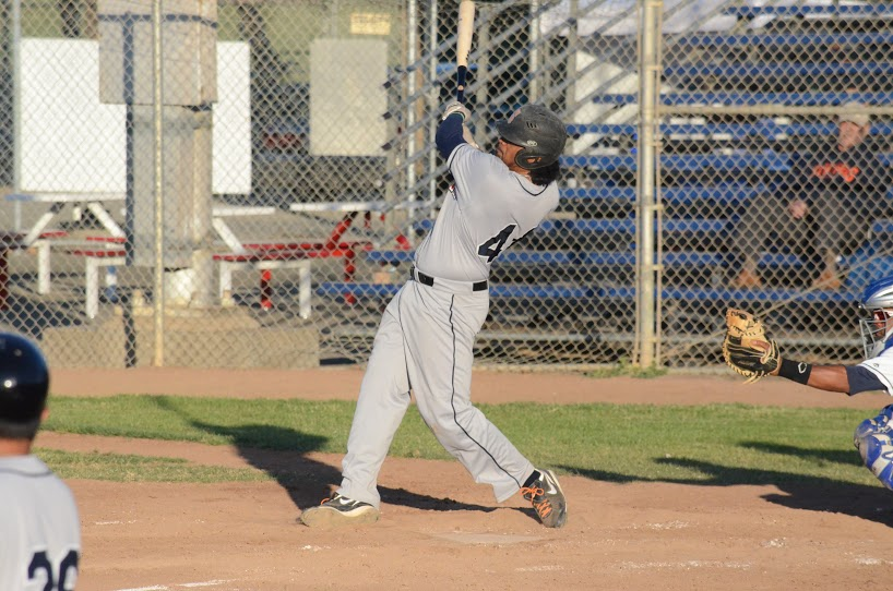 Daniel Baptista returned to the lineup Thursday from the inactive list, and delivered with a 2 run double in Sonoma's 6-3 victory. He finished the game  2 for 4 with 2 RBIs.  James Toy III/Sonoma Stompers